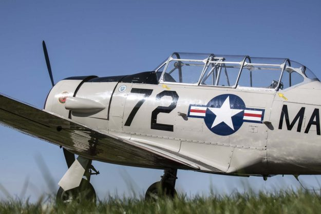 Harvey Warbird Flight Experience